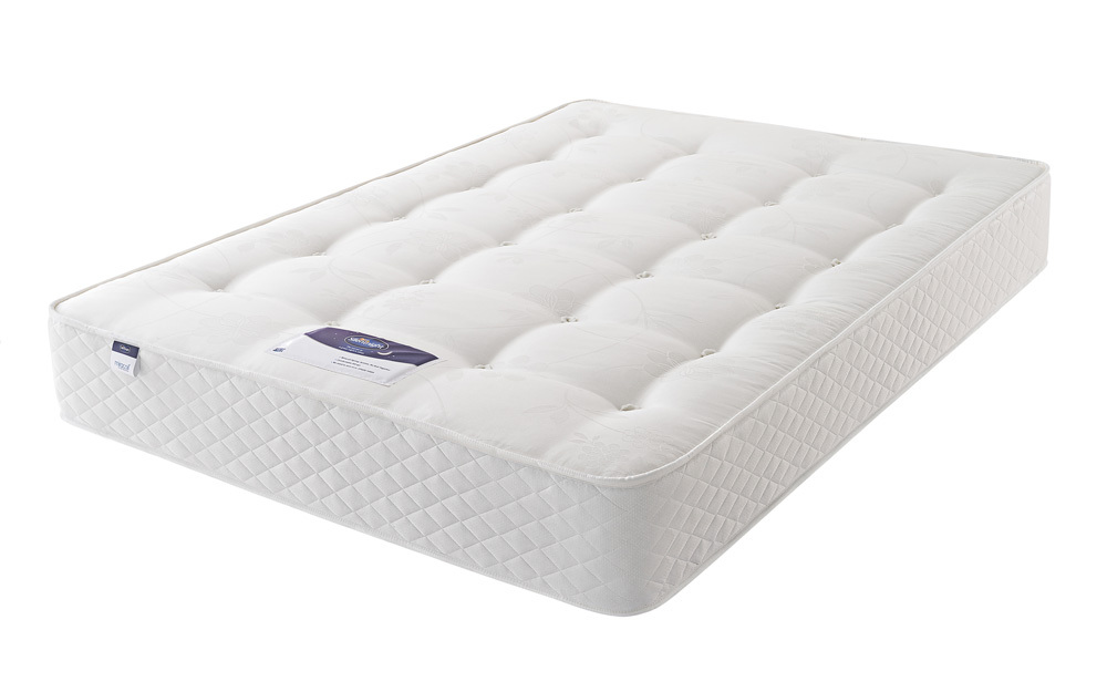 The Silentnight Ortho Dream Star Miracoil Mattress features extra firm orthopaedic support