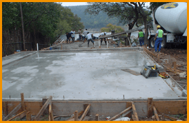 Slab Foundations have pros and cons.