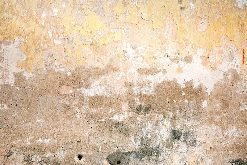 Colorful stucco surface background. Stucco surface background. Colorful plaster wall. Grunge scratched concrete panel stock photo