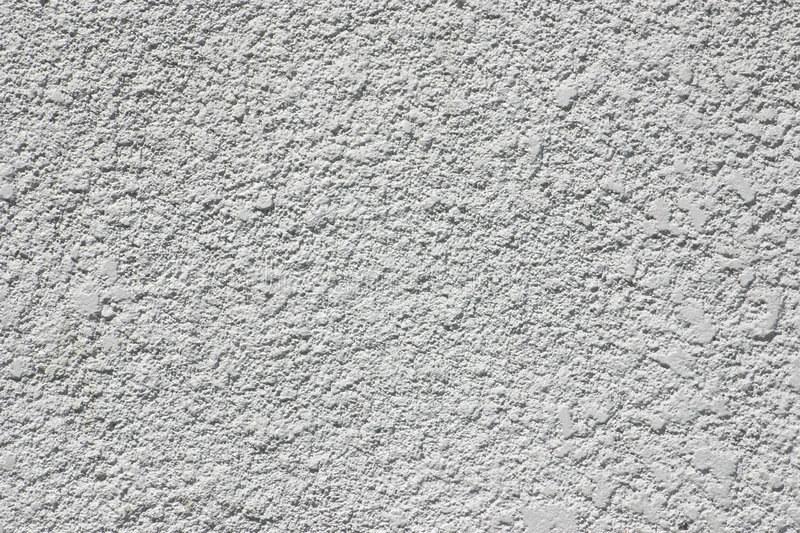Gray Stucco. Stucco on an industrial building stock photos