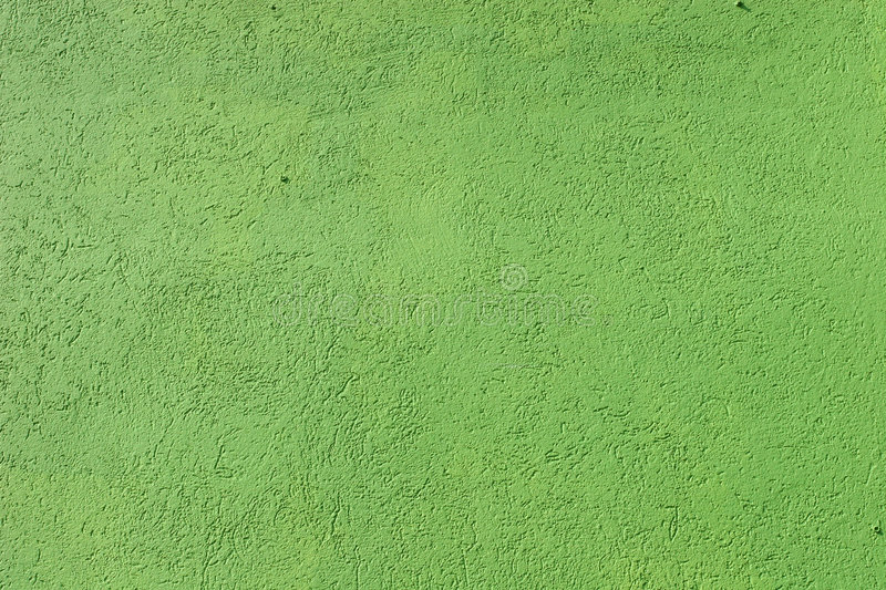 Green Stucco. Closeup of green stucco wall royalty free stock image